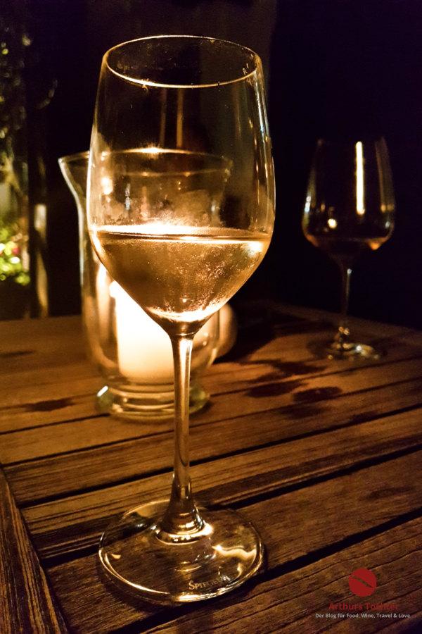 Wein zu späterer Stunde ...