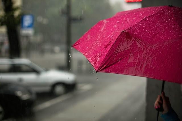 Quinta-feira chuvoso em Foz, e temperatura máximas de 29˚C