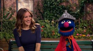 celebrity, Sarah Jessica Parker, super grover, Sesame Street Episode 4418 The Princess Story season 44