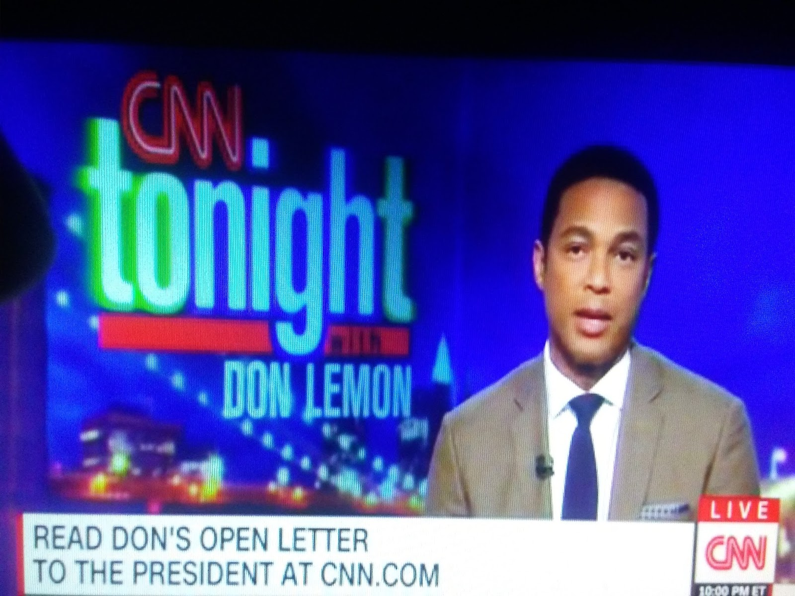 Don Lemon Open Letter.The Last Tradition Snowflake Don Lemon Of Cnn Files Police Report