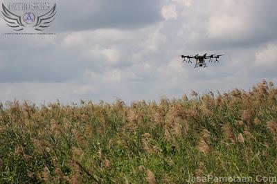 jasa pemetaan perkebunan drone spray