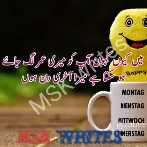 Funny Poetry For Friends In Urdu