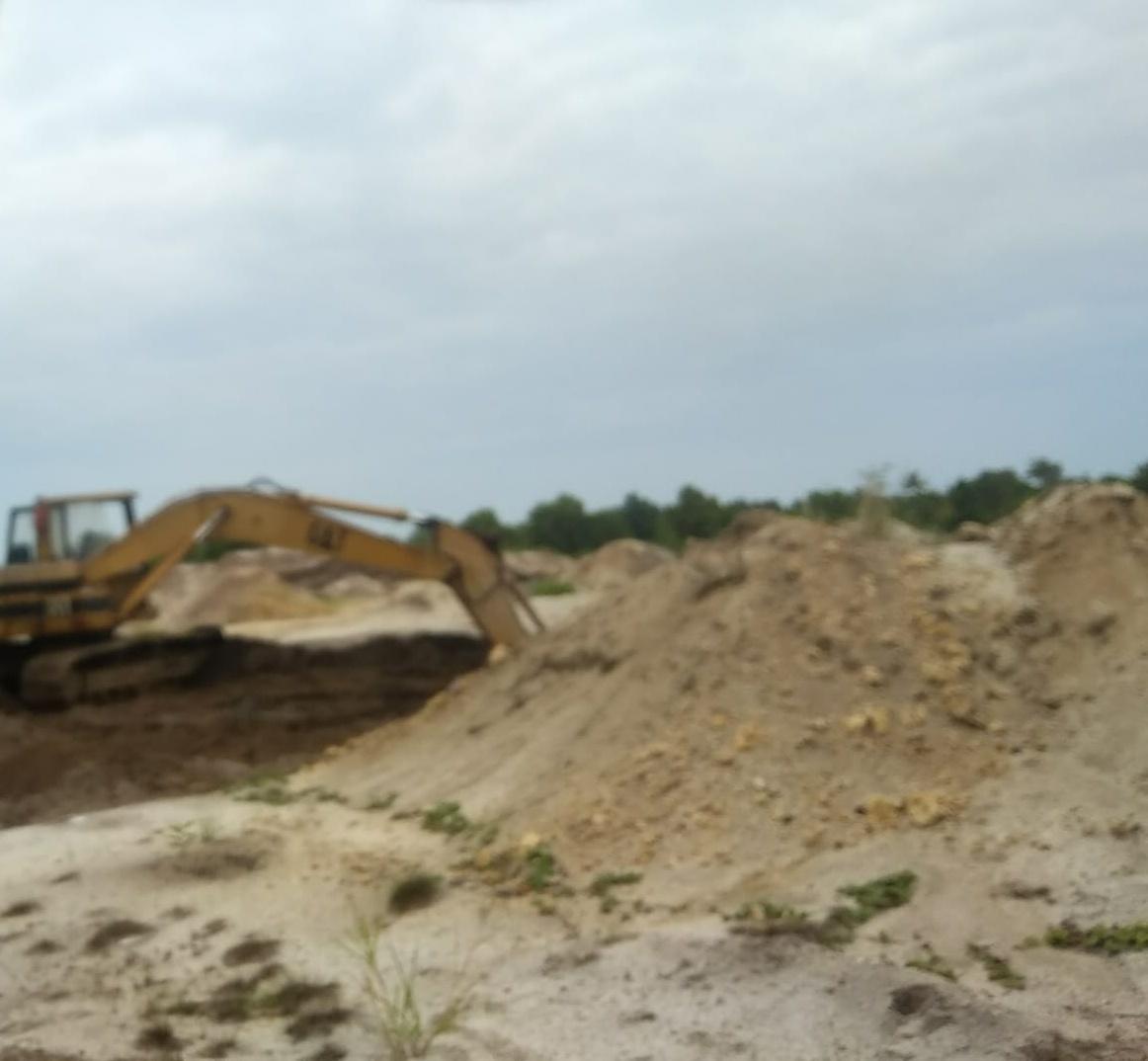 LSM Gempita Minta Tambang Pasir Yang Tidak Memiliki Izin di Bintan Ditutup