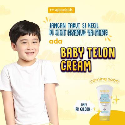 Produk Terbaru Ms Glow Kids Baby Telon Cream