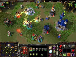 Warcraft 3 battle