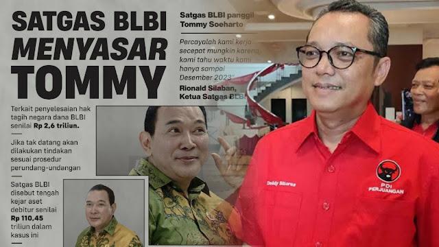 PDIP Dukung Satgas BLBI Tagih Utang Rp 2,6 T ke Tommy Soeharto