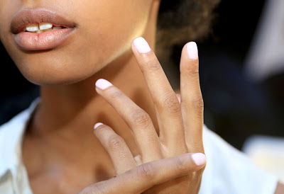 Essie nail polish at Alexander wang fashion show
