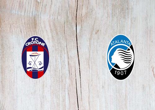 Crotone vs Atalanta -Highlights 31 October 2020