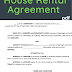 House Rental Agreement format sample template in pdf