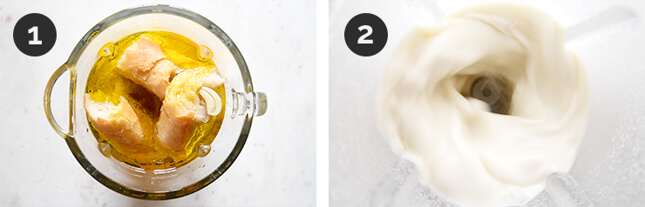 Step by step photos of how to make Delicious And Very Creamy Ajoblanco (7 Ingredients)