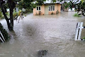 Hujan Lebat Akibatkan 25 Rumah di Desa Bolangat Terendam Banjir