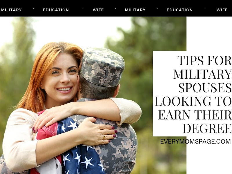 Tips For Military Spouses Looking to Earn Their Degree