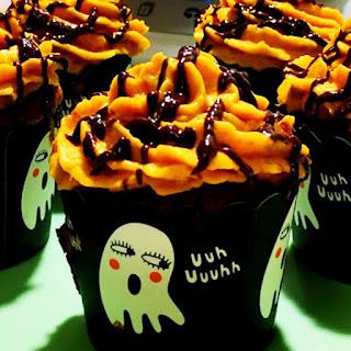 Muffins de Calabaza Halloween