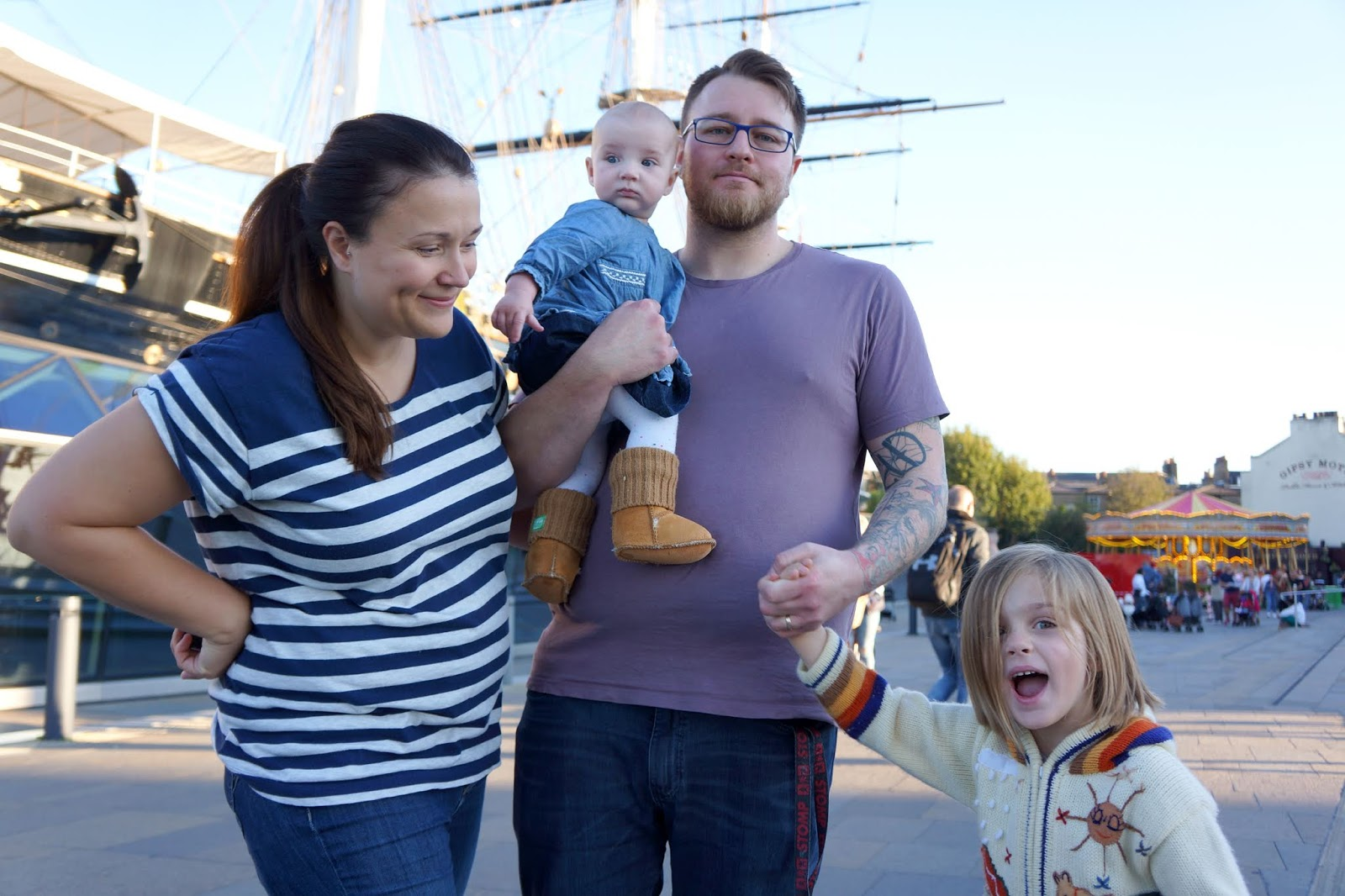 cutty sark family photo