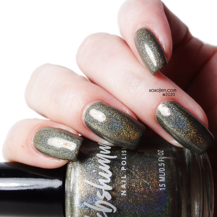 xoxoJen's swatch of KBShimmer Fully Booked