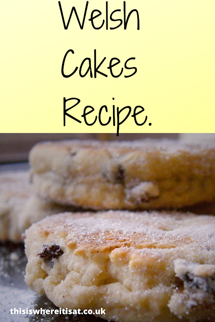 Welsh Cakes Recipe.