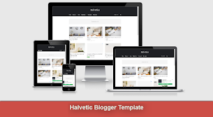 Helvetica - Responsive Clean Blogger Template - Perfect And Unique Design - Responsive Blogger Template