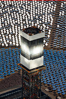NRG Energy was the largest investor in the Ivanpah solar thermal plant in the Mojave Desert. (Credit: NRG) Click to Enlarge.