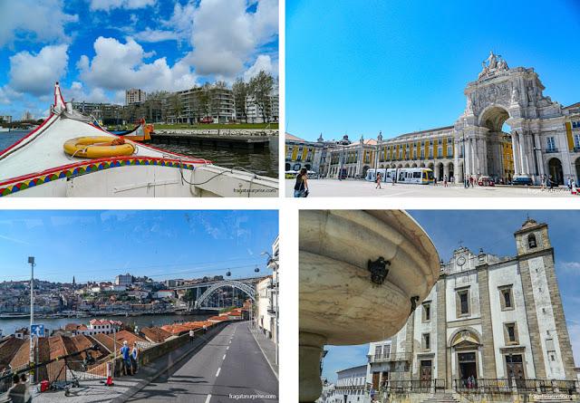 Hospedagem em Portugal: Aveiro, Lisboa, Évora e Porto