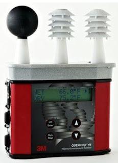 Perekam Data Temperatur Bola Basah dan Bola Kering