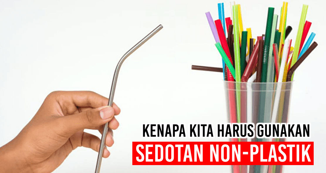 Alasan Kenapa Kita Harus Beralih Menggunakan Sedotan Non-Plastik