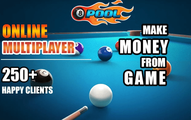 Money Making Android Or Ios 8 Ball Multiplayer Pool Game