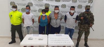 hoyennoticia.com, Batida contra jíbaros en San Martín, Cesar: Cuatro capturados