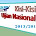 Kisi-kisi UN (Ujian Nasional) BSNP SMP, SMA, SMK Tahun Ajaran 2015-2016