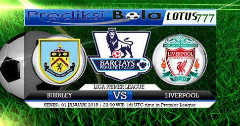 PREDIKSI  Burnley vs Liverpool   01 JANUARI 2017