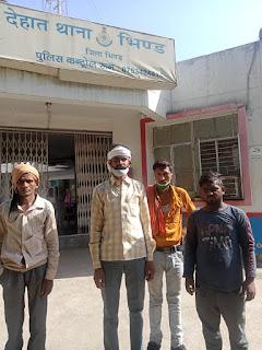 पुलिस को चैलेंज देते हुए नकाब पोश बदमाशो ने लूटे सब्जी व्यापारियों से 24 हजार रुपये