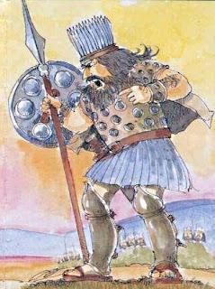 Il gigante Golia