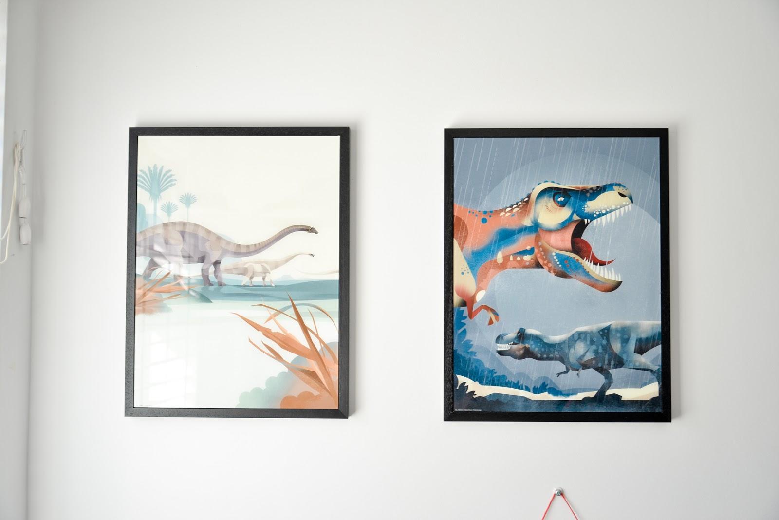 dinosaur frames, dinosaur posters, dinosaur prints,