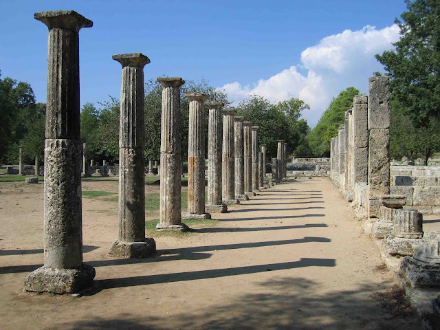 Travel to Olympia in Greece
