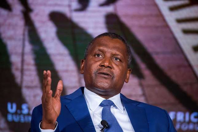 Dangote remains Africa's richest person for 9th consecutive year