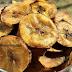 Receita de chips de banana verde