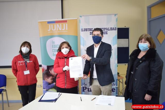 $56 millones entregó la Junji Los Lagos a Municipalidad de Puyehue