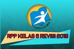 Download RPP Kelas 6 K13 SD/MI Tema 5 Revisi 2019 Semester Ganjil Terbaru