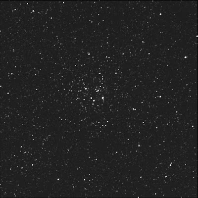 open cluster Messier 26 in luminance