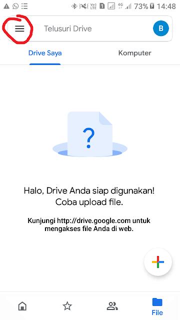 Cara beli penyimpanan google drive