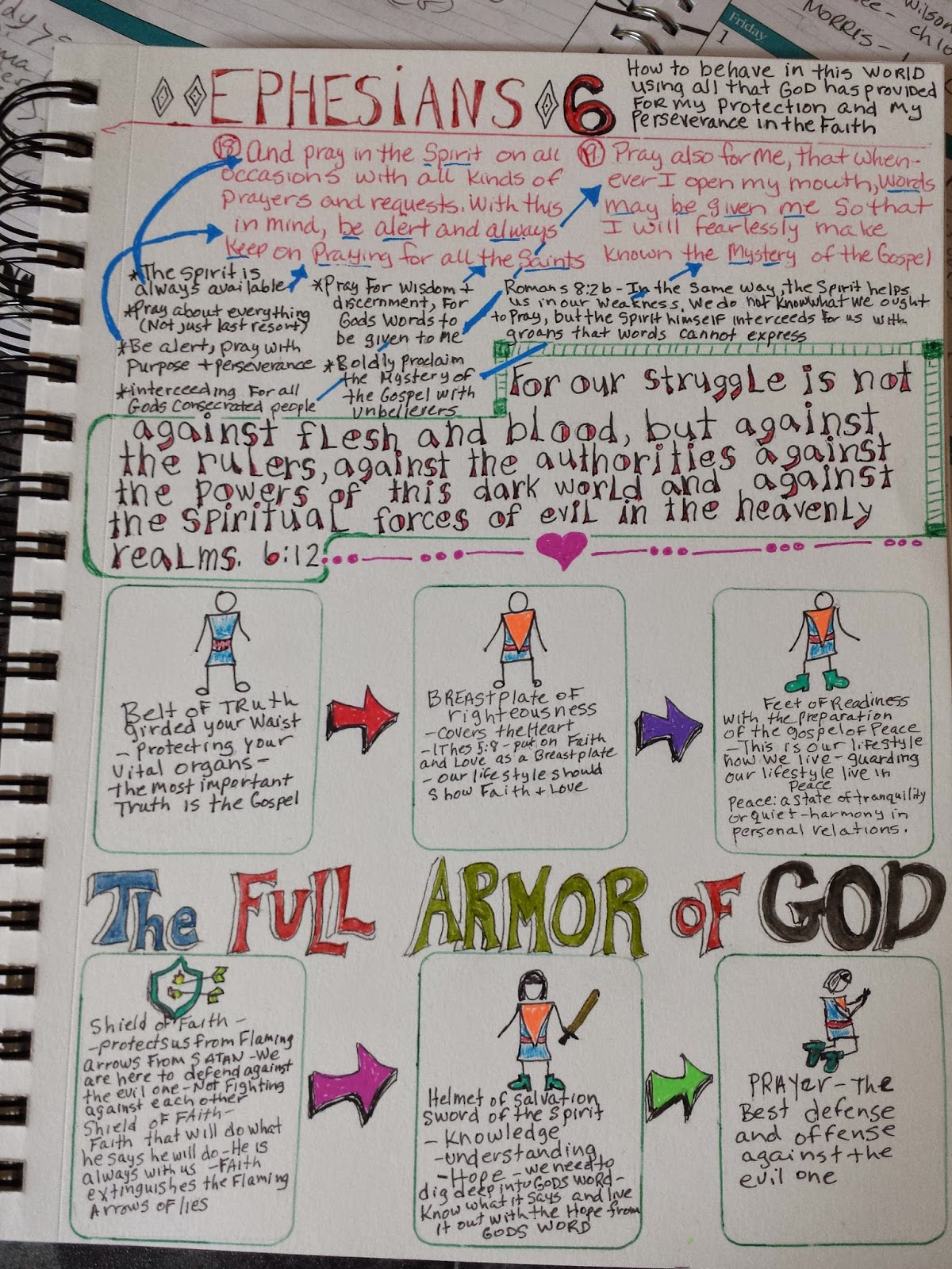 Marie S Bible Journal And Interview