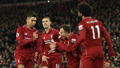 Highlight Liverpool 5-1 Arsenal, 29 Desember 2018