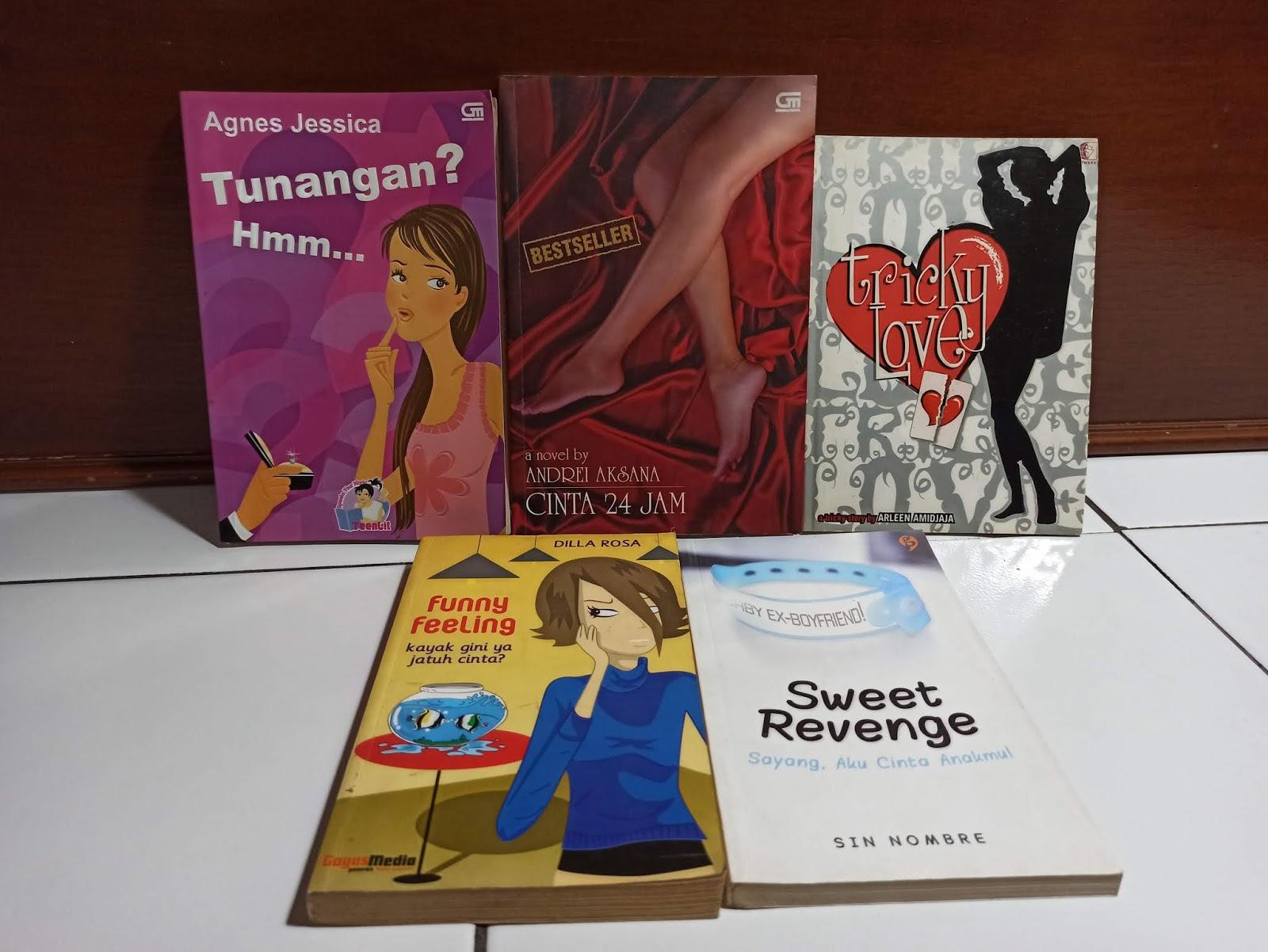 Lima Novel Bekas Best Seller