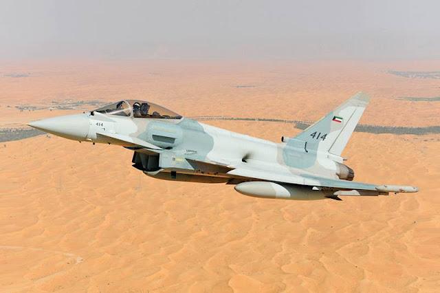 Eurofighter Kuwait configuration first flight