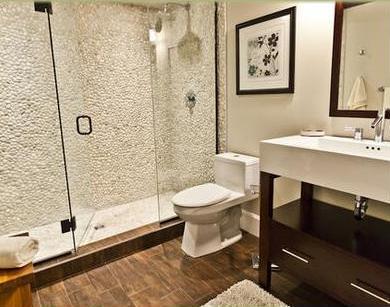 Material aislante termico: Baldosas baño modernas