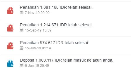 Bukti Widraw Indodax