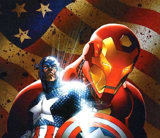 Captain America vs Iron-Man - Marvel Civil War Comics PDF