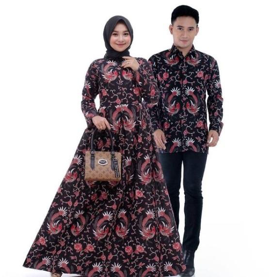 Gamis Batik Pasangan Terbaru