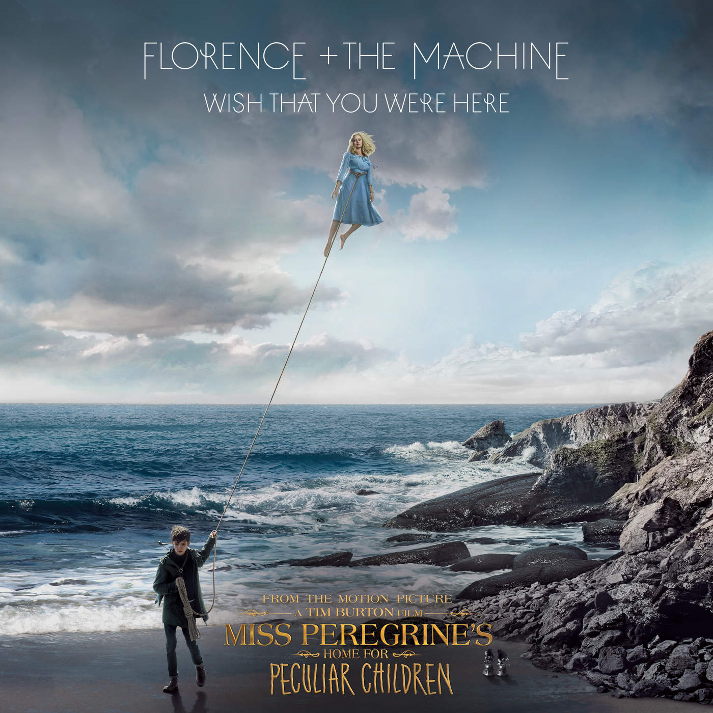 """Florence + The Machine - Wish That You Were Here (From """"Miss Peregrine's Home for Peculiar Children"""" Original Motion Picture Soundtrack) - Single Cover"""