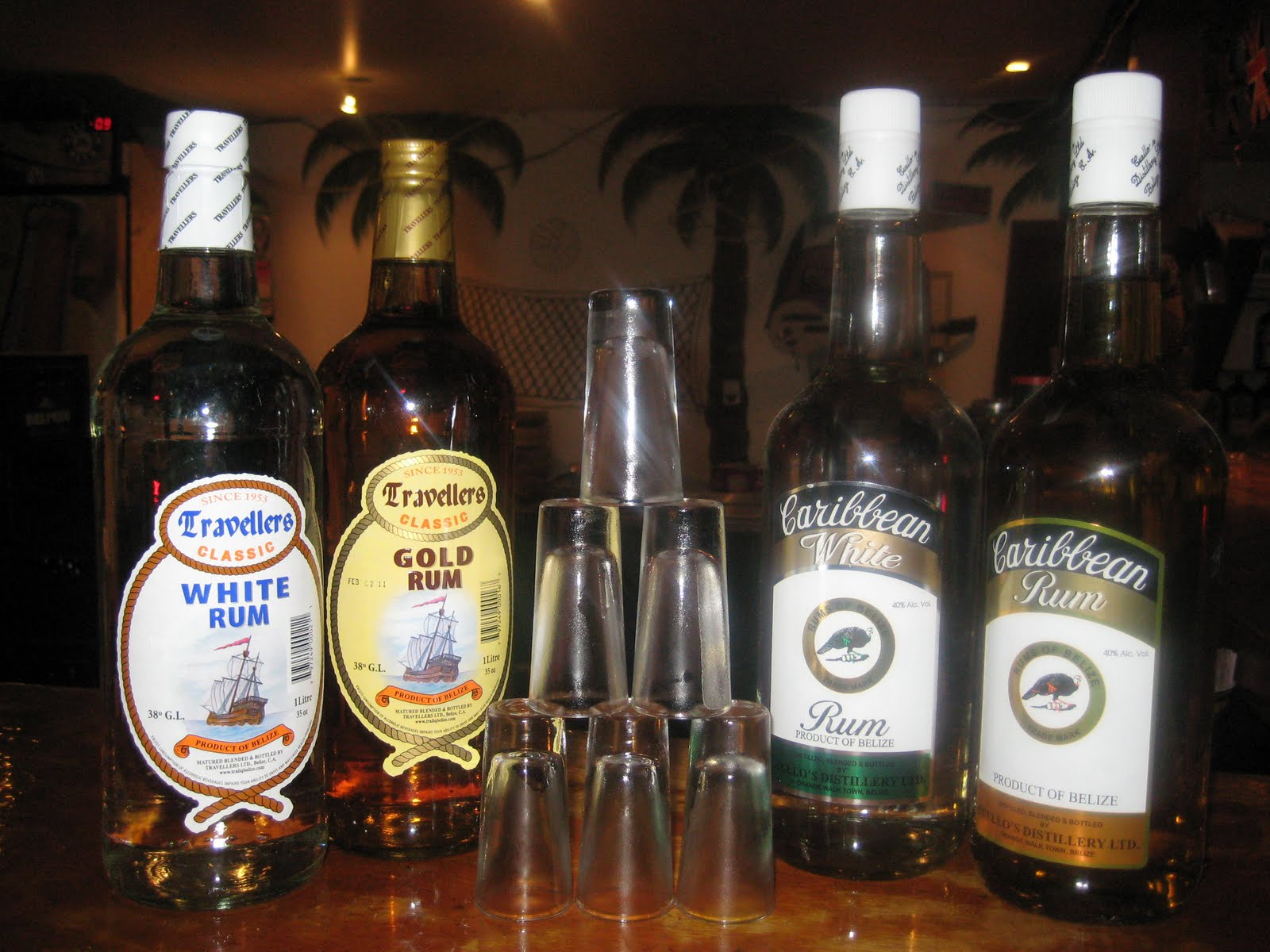 Caribbean Rum: The Best Belizean Rum Is Declared At PEDRO'S INN!