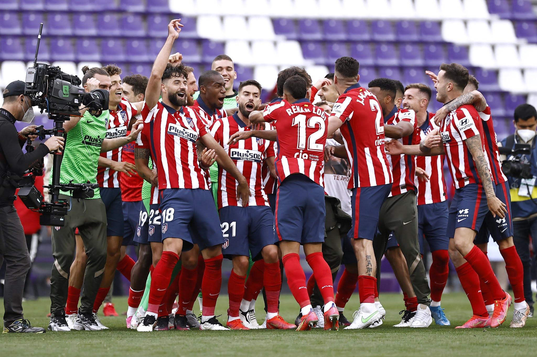 Atletico Madrid campeon de LaLiga
